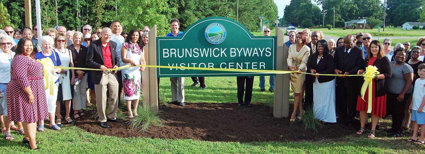 Brunswick County Byways Visitor Center - Ribbon Cutting